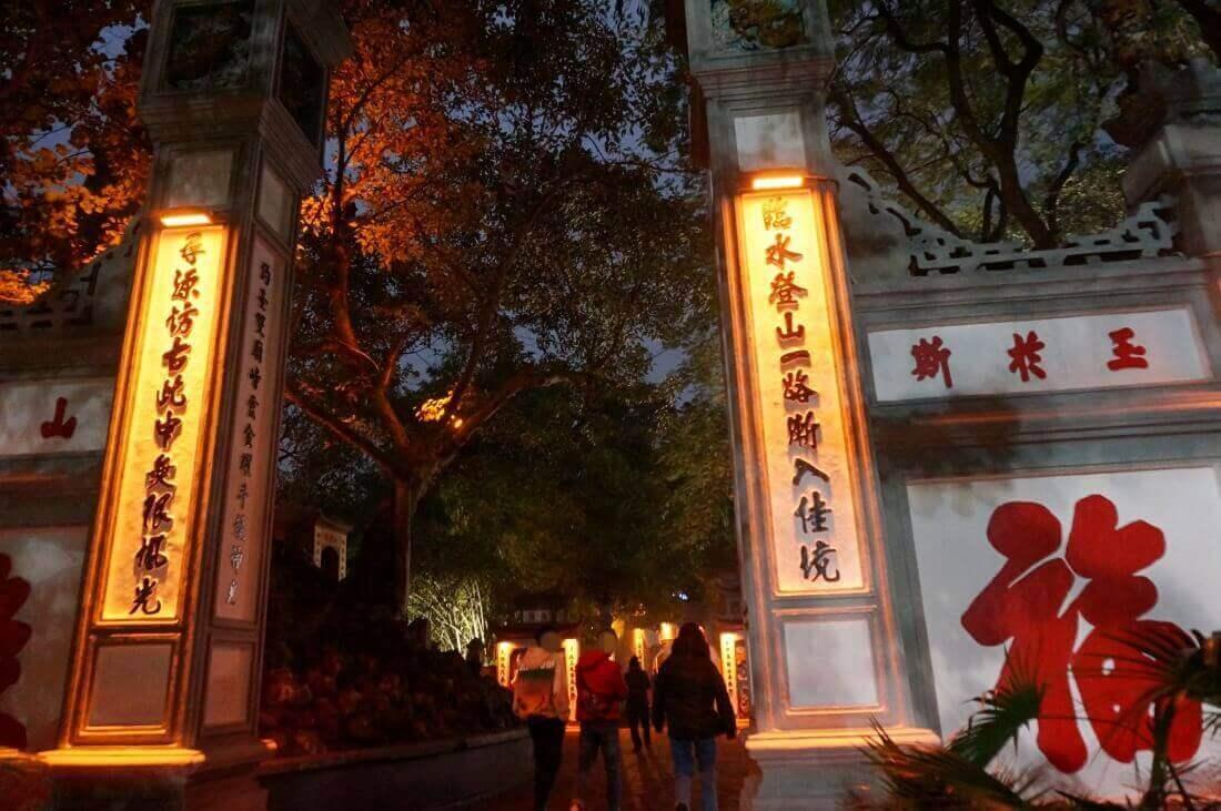 hanoi-sightseeing-spot-Ngoc Son Temple