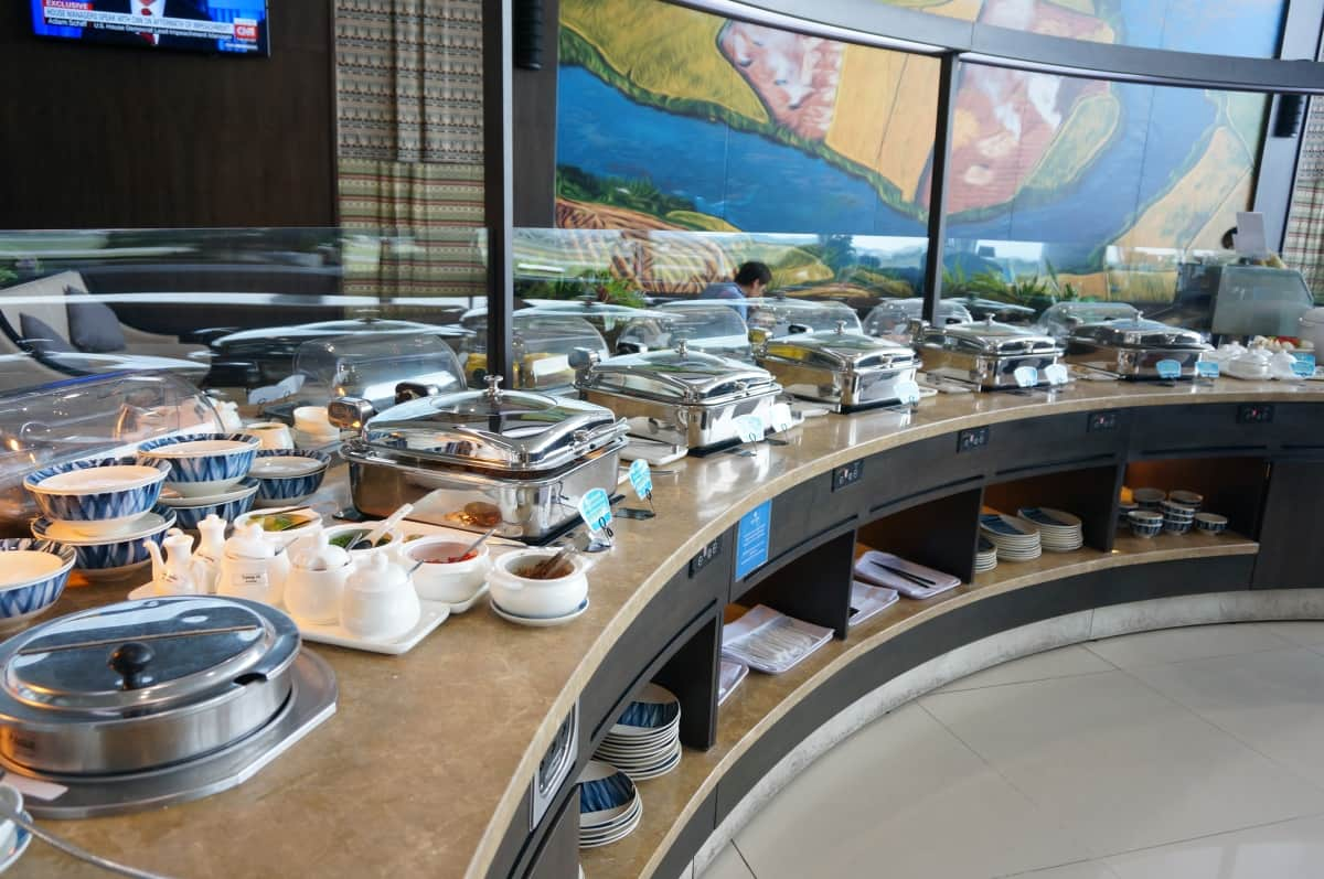 SONG HONG BUSINESS LOUNGE-Food Counter
