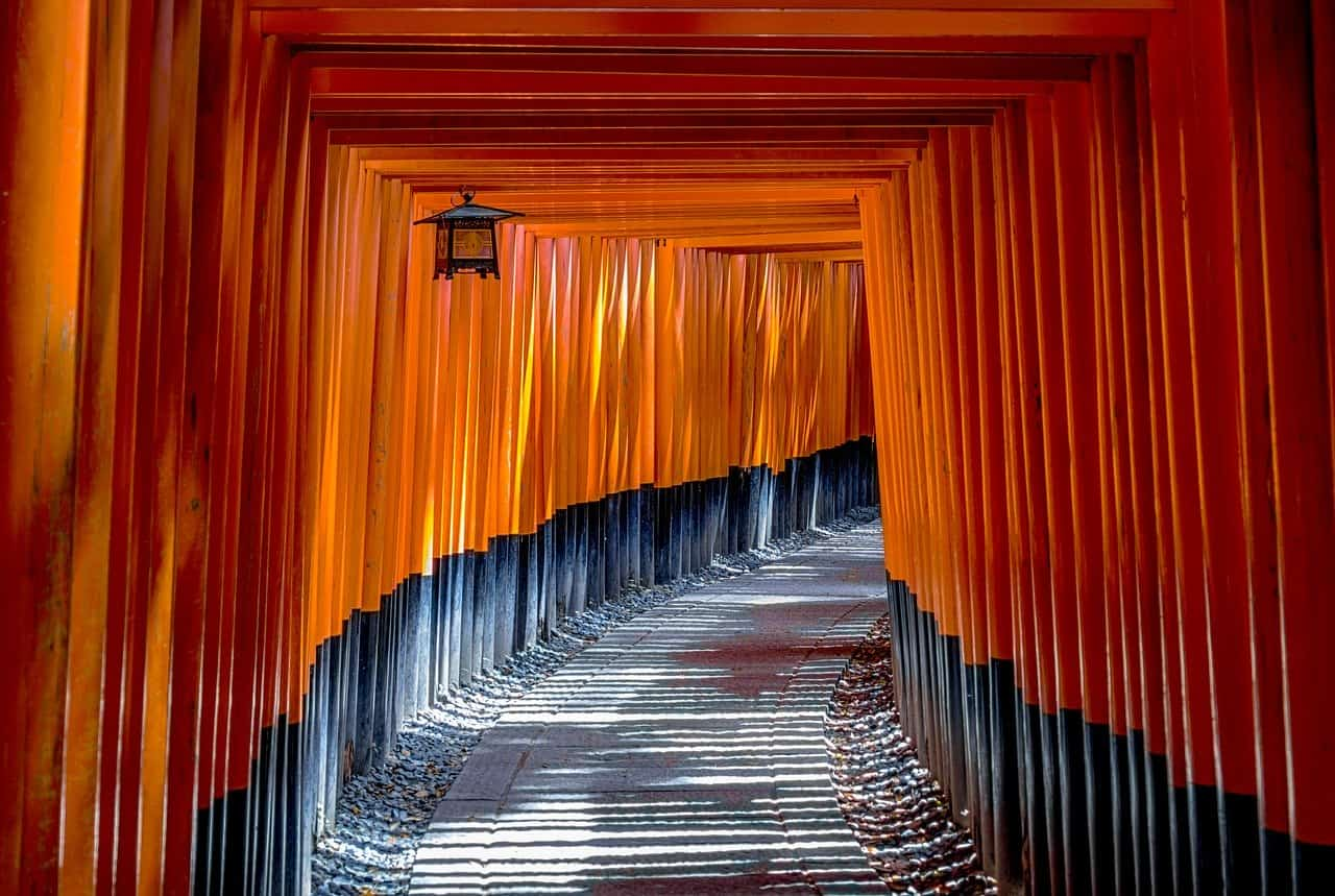 Fushimiinari-shrine-torii