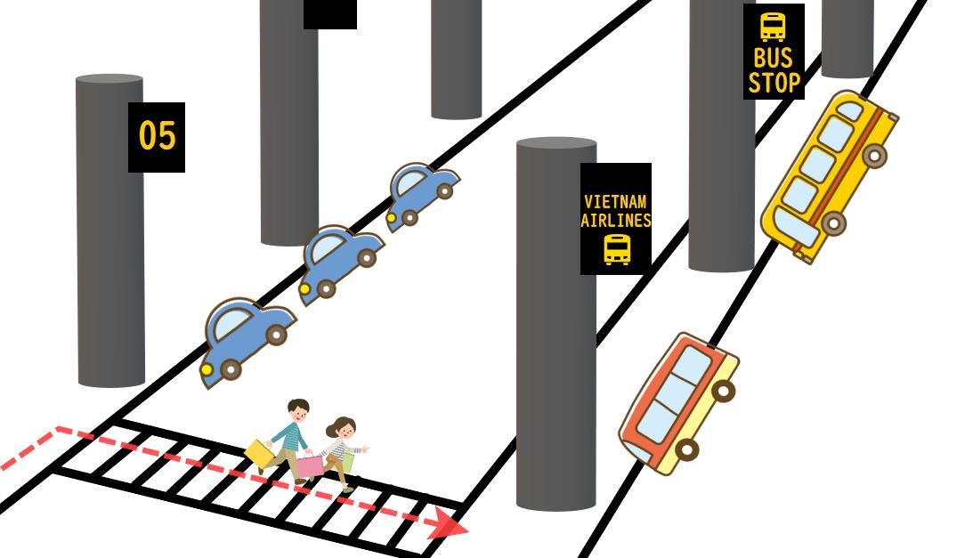 HanoiAirport-Access-MiniBus Stop