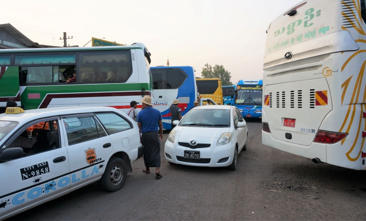 Aung Mingala Highway Bus Station