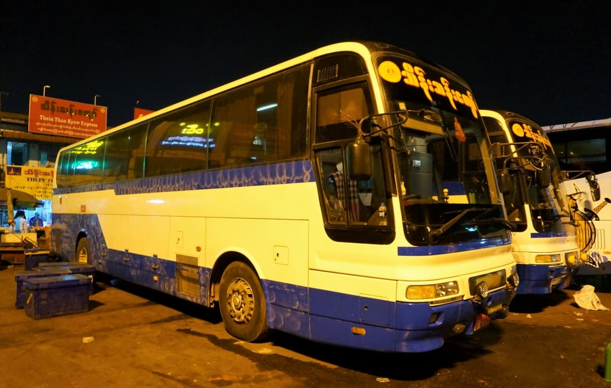 Thein Than Kyaw Express-Bus