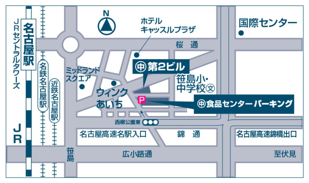 柳橋中央市場駐車場