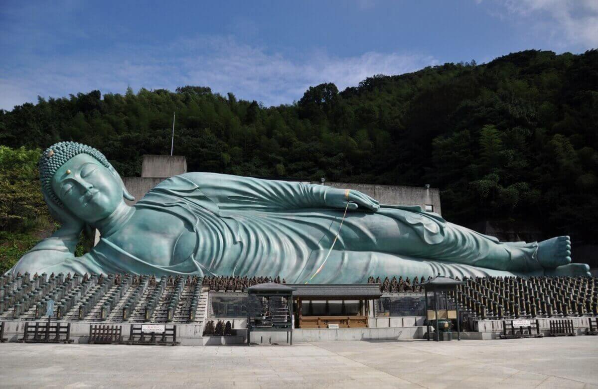 南蔵院-涅槃像