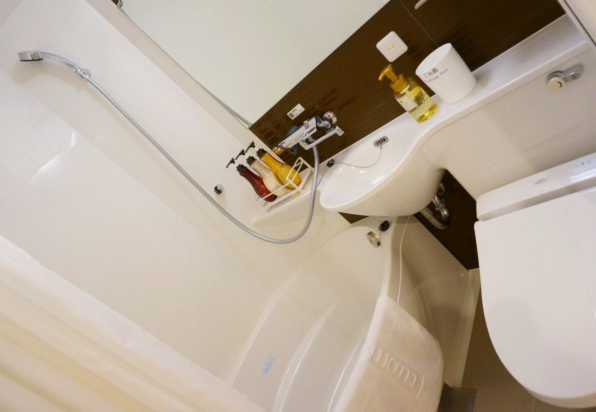 アットインホテル名古屋駅-風呂