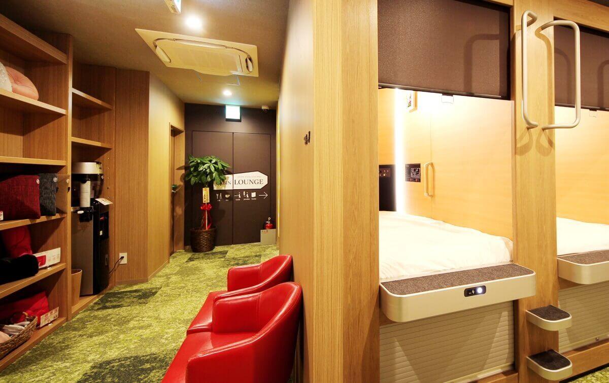 アットインホテル名古屋駅女性キャビン