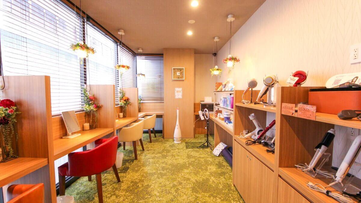 アットインホテル名古屋駅女性キャビン-化粧室
