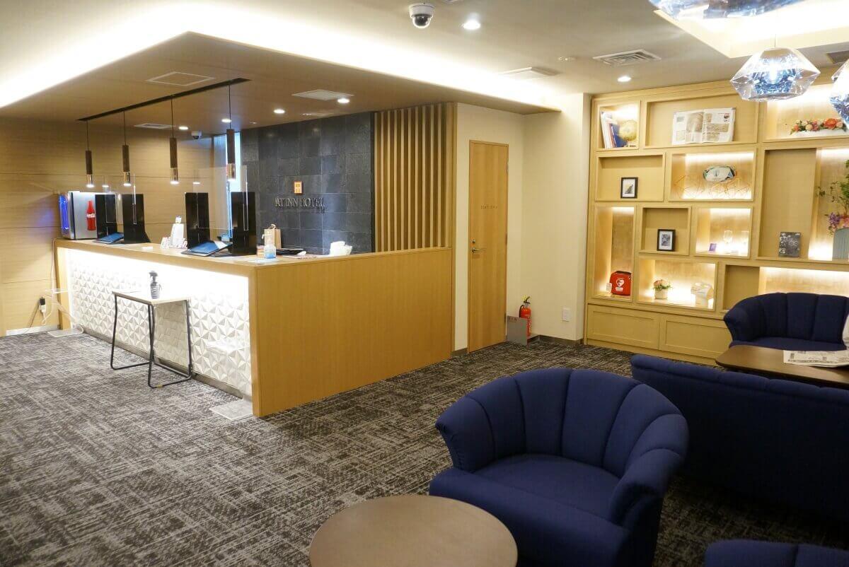 アットインホテル名古屋駅-フロント
